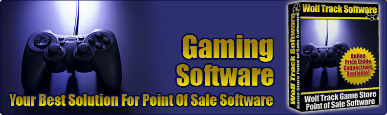 Wolf Track Gaming Point of Sale Software Banner