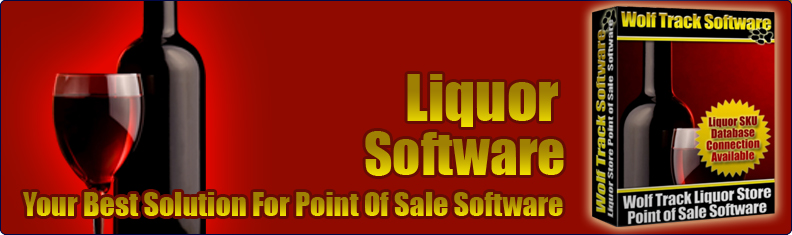 Wolf Track Liquor Point of Sale Software Banner