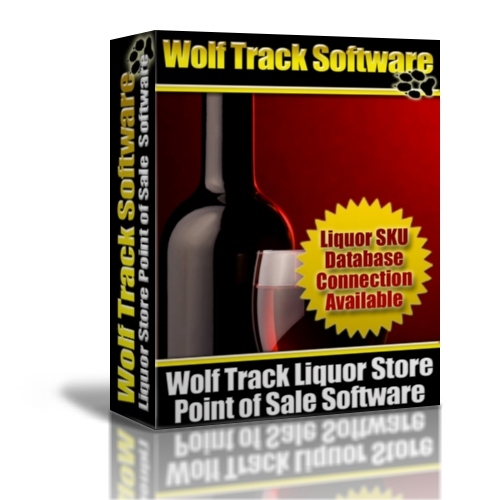 Wolf Track Liquor POS Software - Liquor Product Box