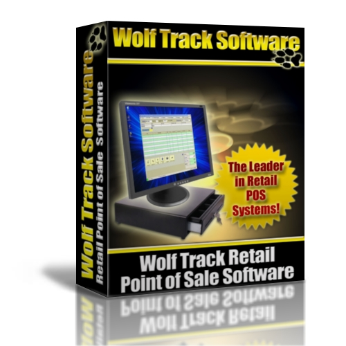 Wolf Track POS Software - Retail Product Box
